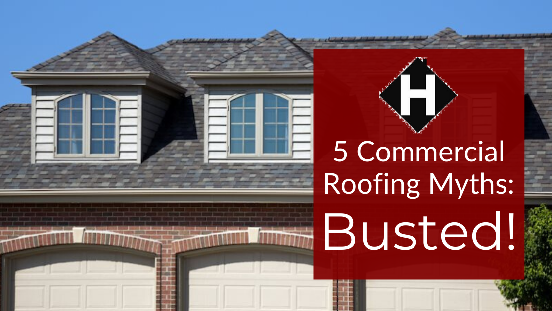 Commercial roofing myths, MN roofing company
